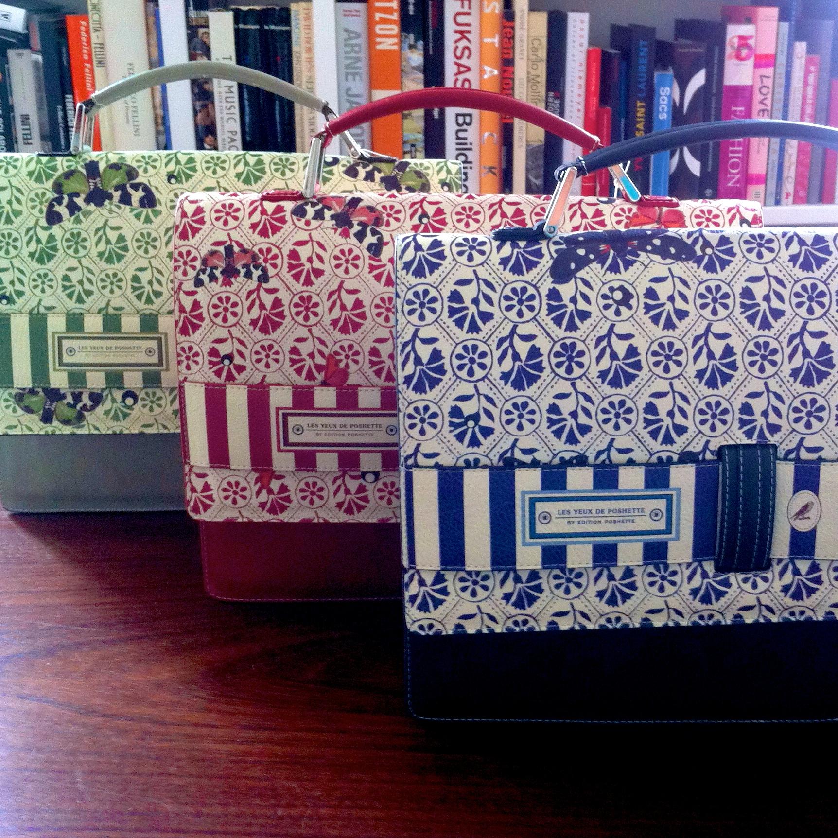 3 x Eye Poshette computerbags