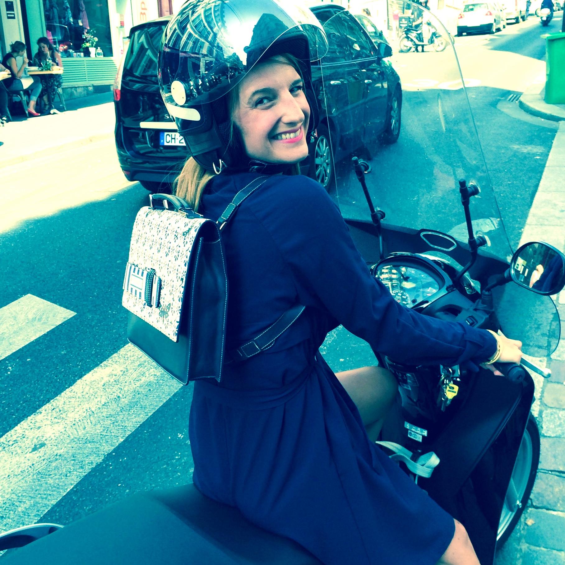 Edition Poshette en moto